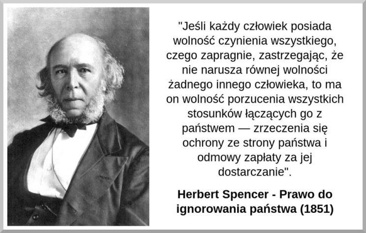 Herbert Spencer - prawo do ignorowania państwa